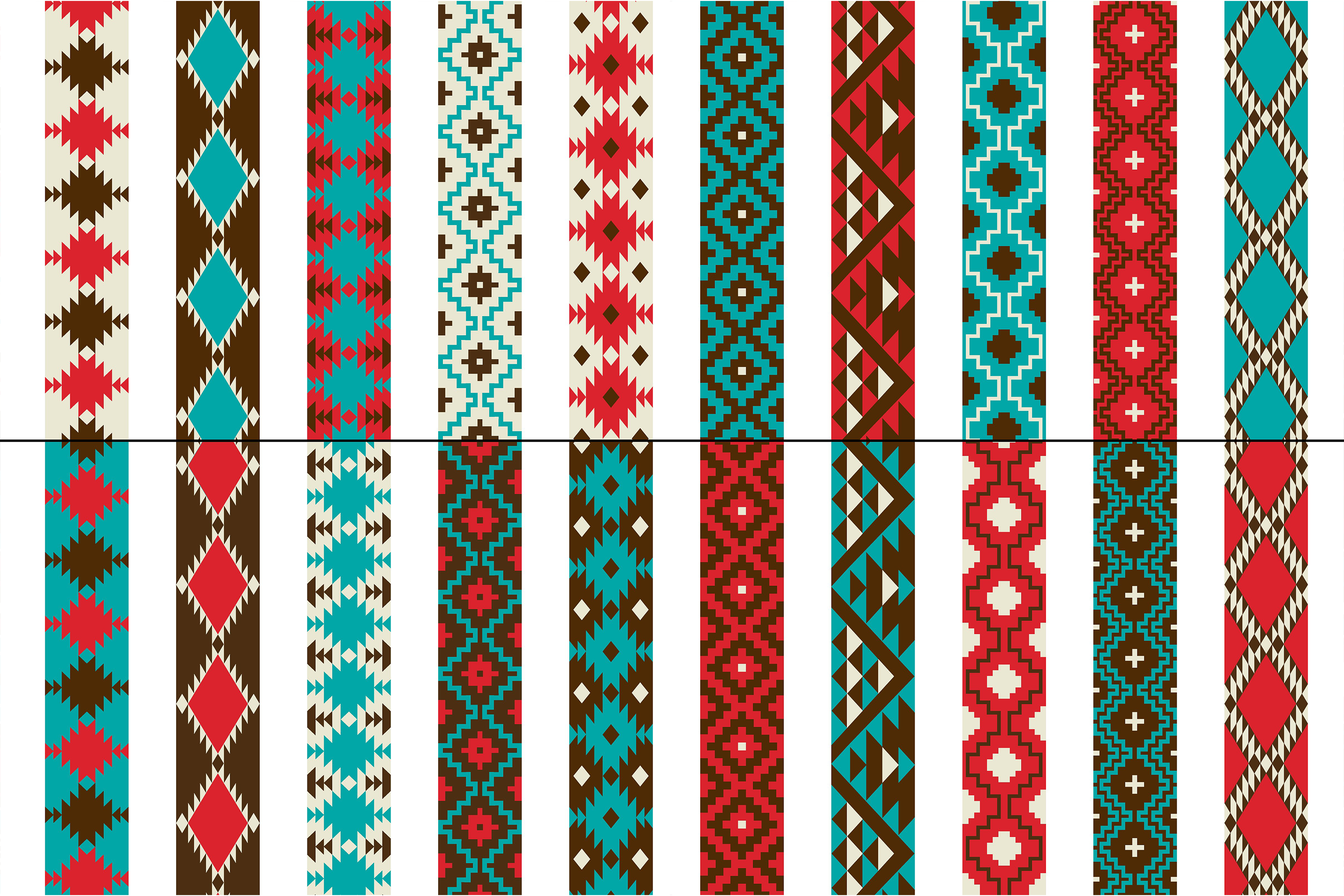 Native American Border Patterns example image 2