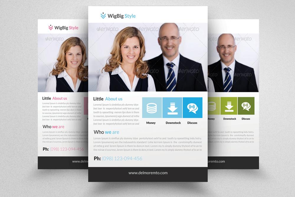 6 Creative Business Flyers Bundle example image 4
