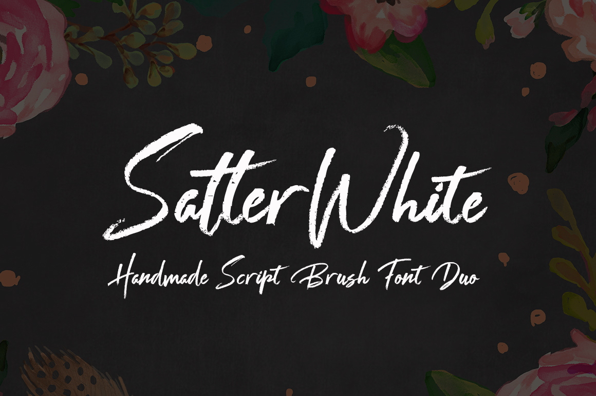 SatterWhite Font Duo example image 1