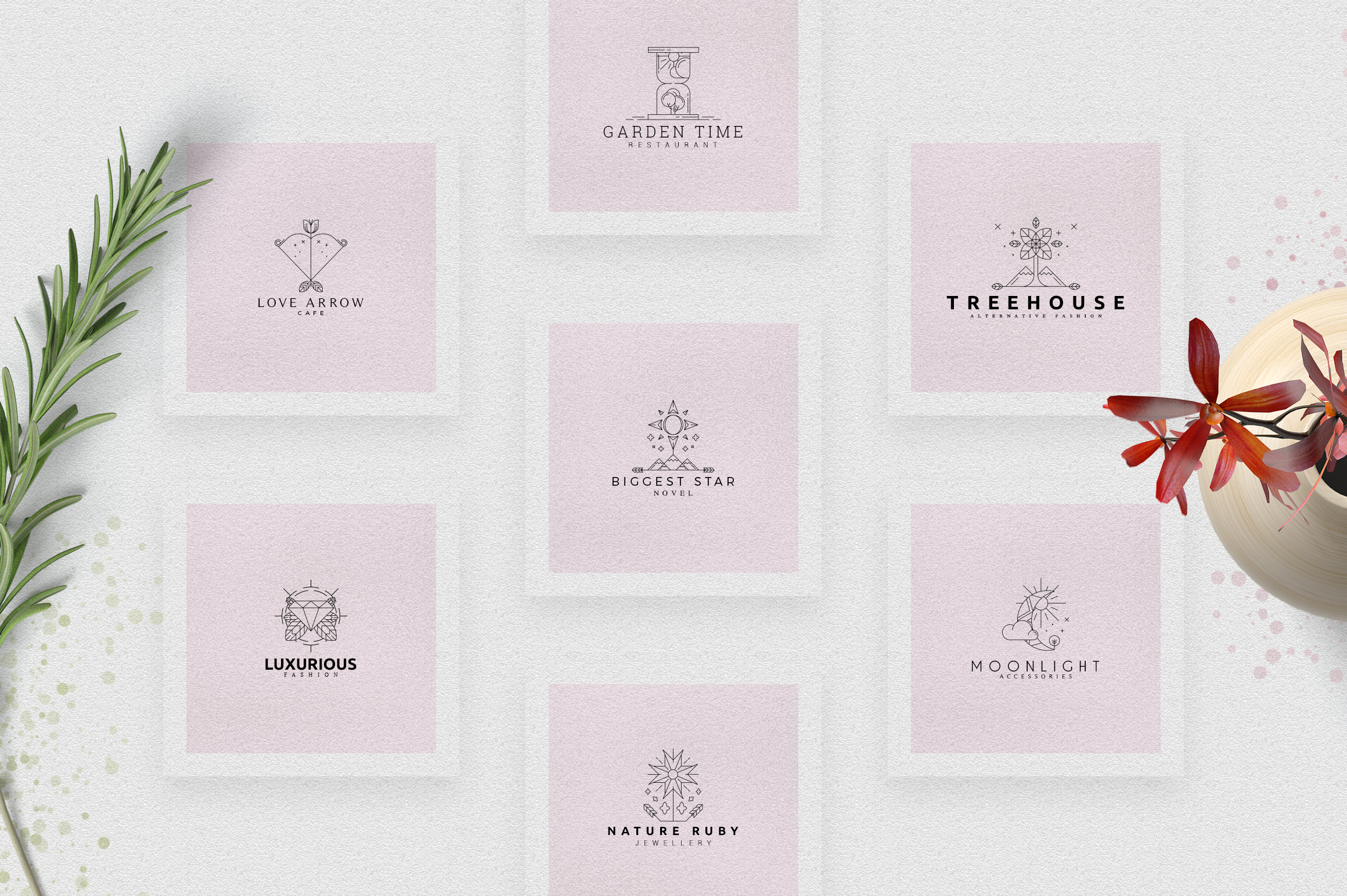 [Spring Vibes] 40 Boutique Logos example image 5