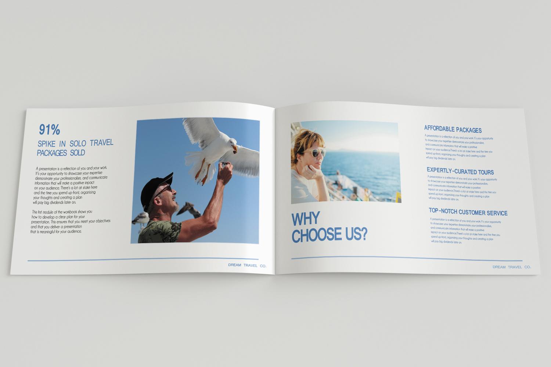 Travel Agency Printable Catalogue - A5-26 PSD Templates example image 7