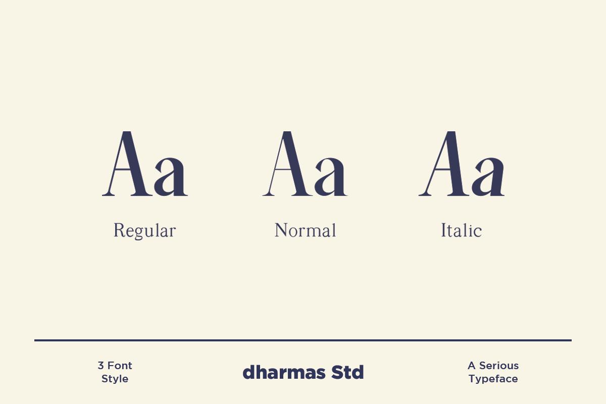 Average - Modern Serif Typeface example image 2