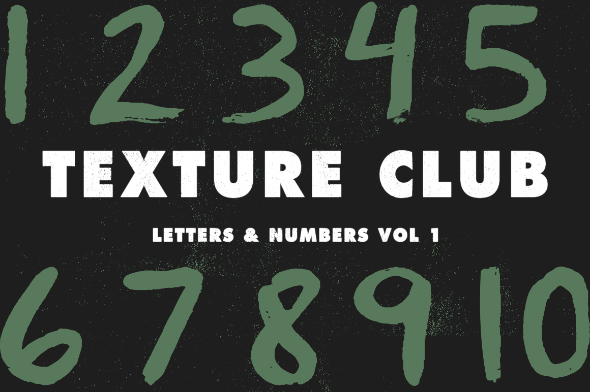 Letters & Numbers Vol 1 example image 2