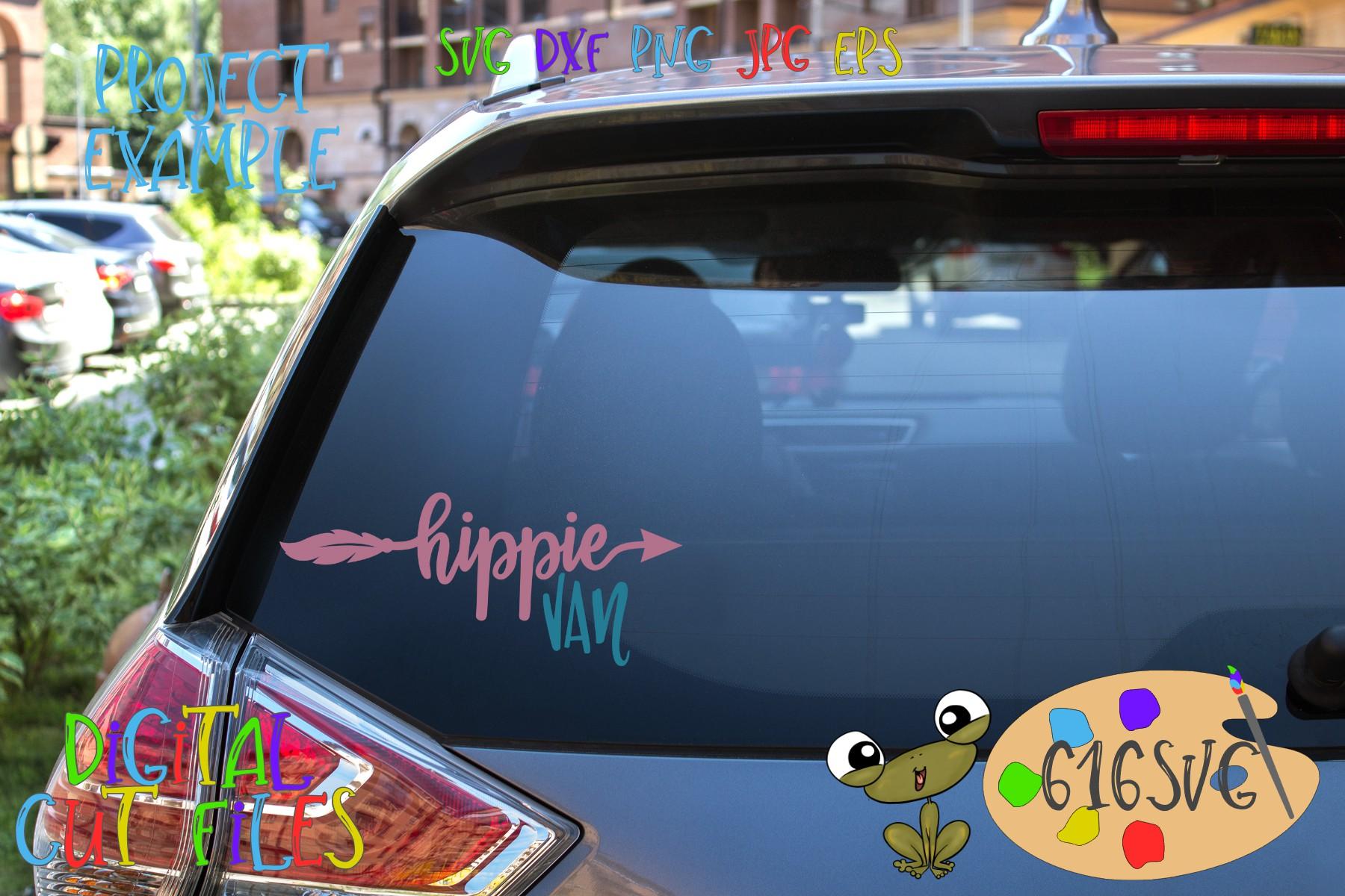 Hippie Mini Bundle SVG example image 7