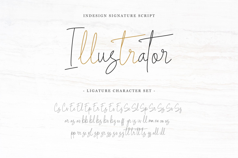 Indesign Signature Script example image 8