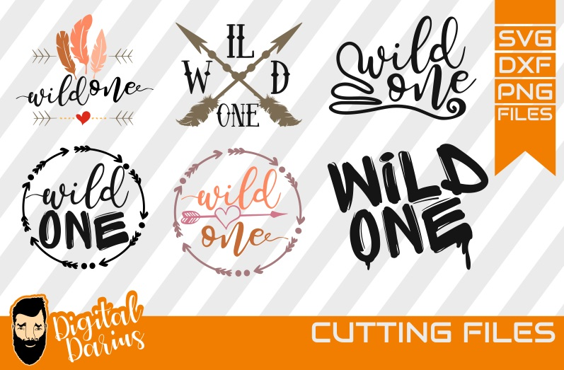 6x Wild One SVG, Travel Svg, Hobby dxf, Mountains, Go Wild example image 1
