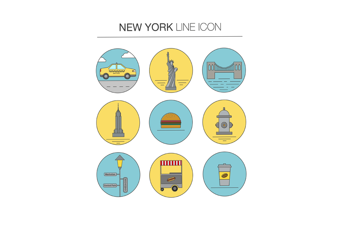 NEW YORK vector collection example image 6
