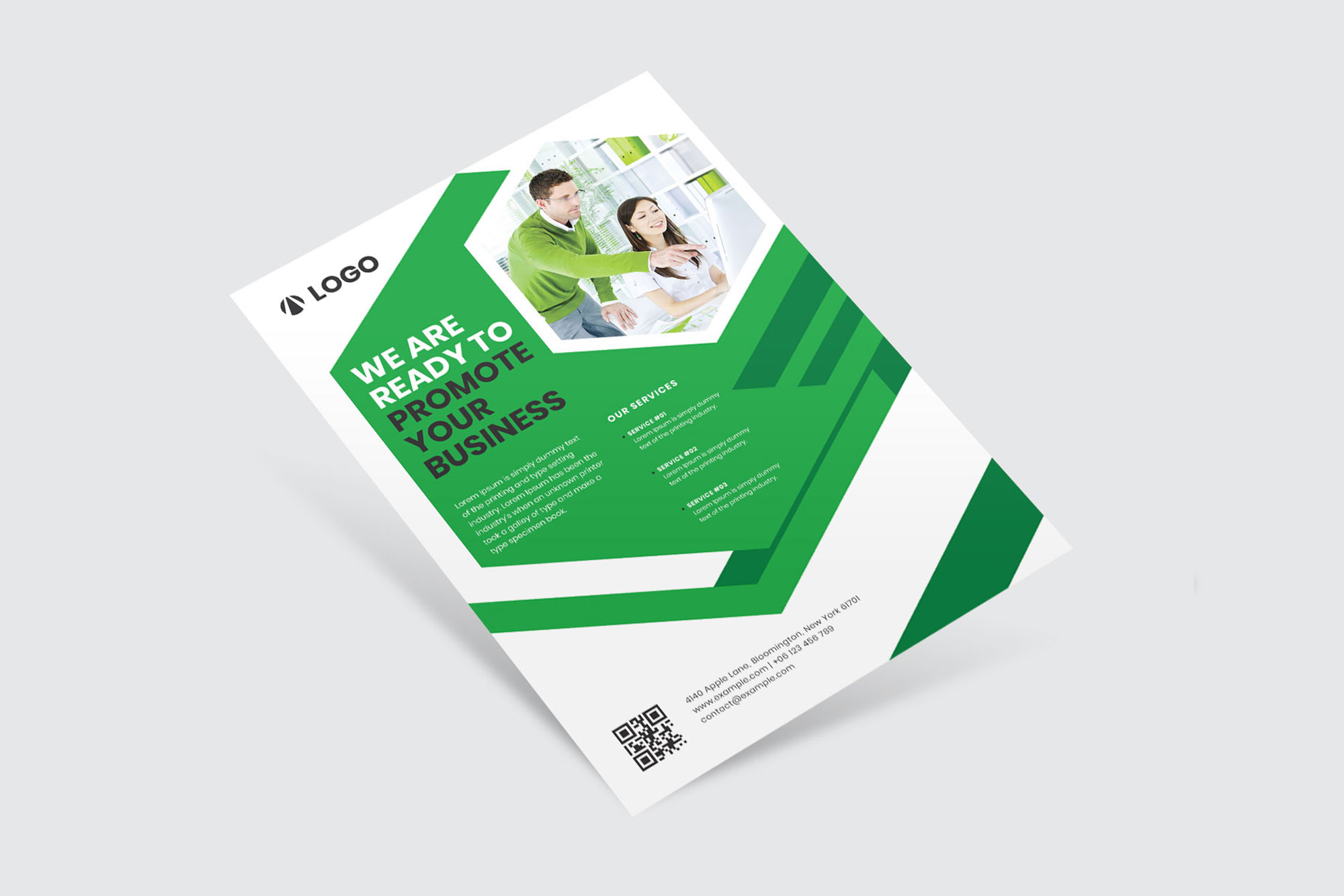 Business Flyer Template example image 5