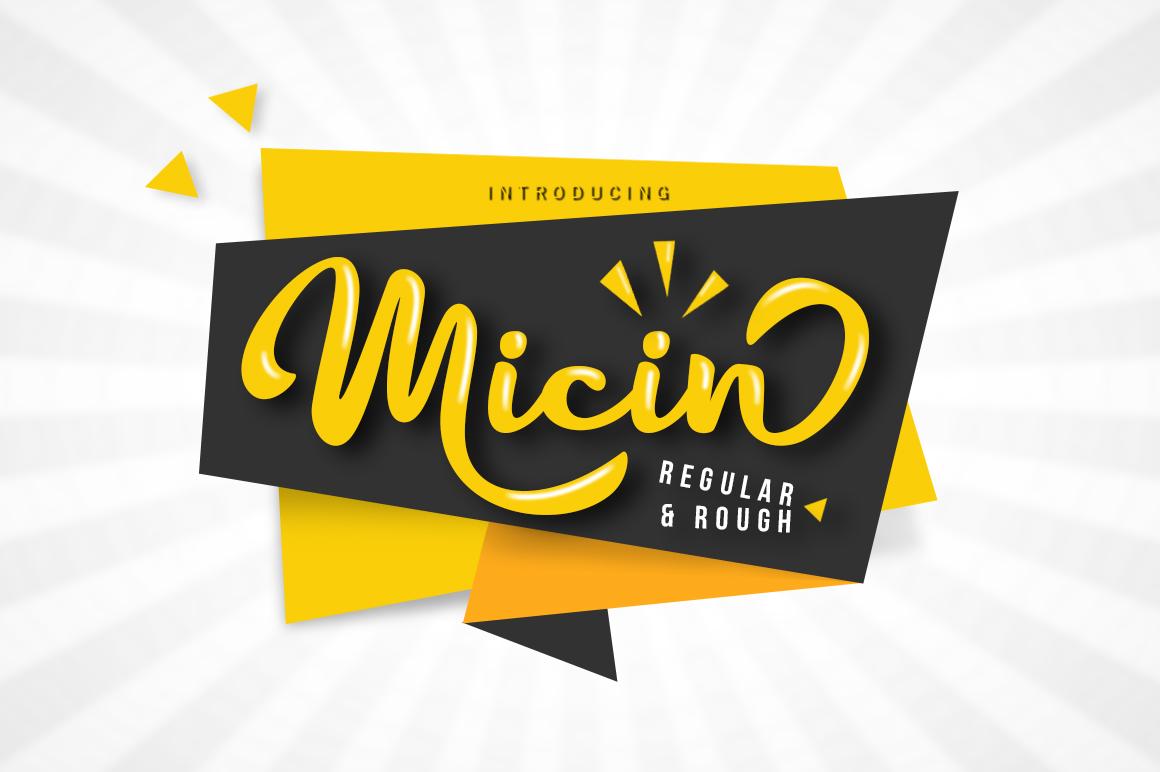 Micin Script example image 1