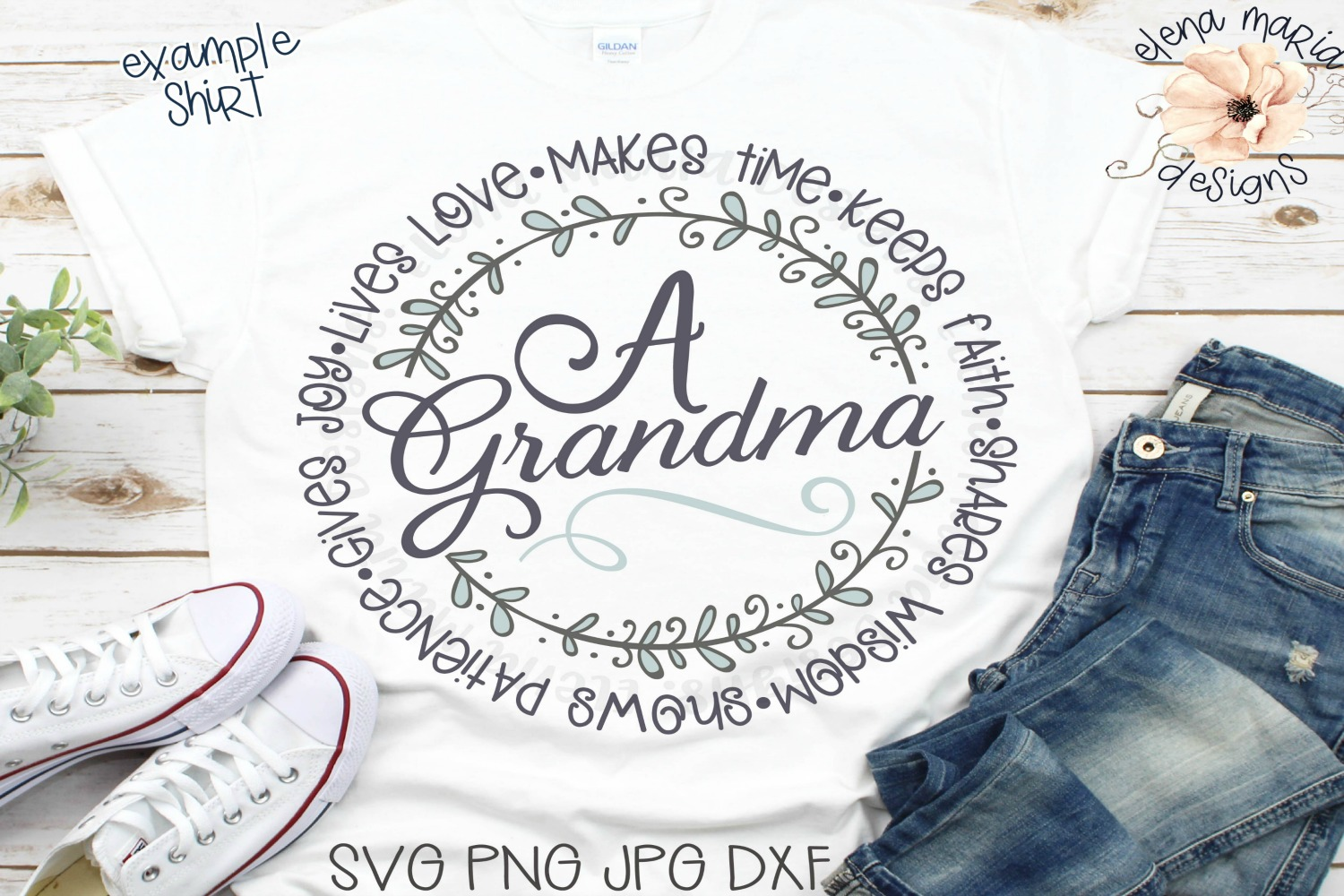 Grandma   Mothers Day Svg Files and Cut Files For Crafting example image 1