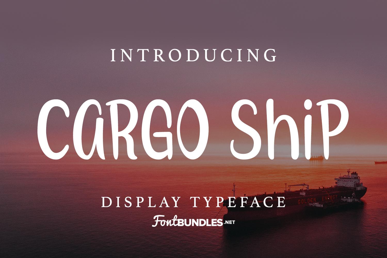 Cargo Ship example image 1