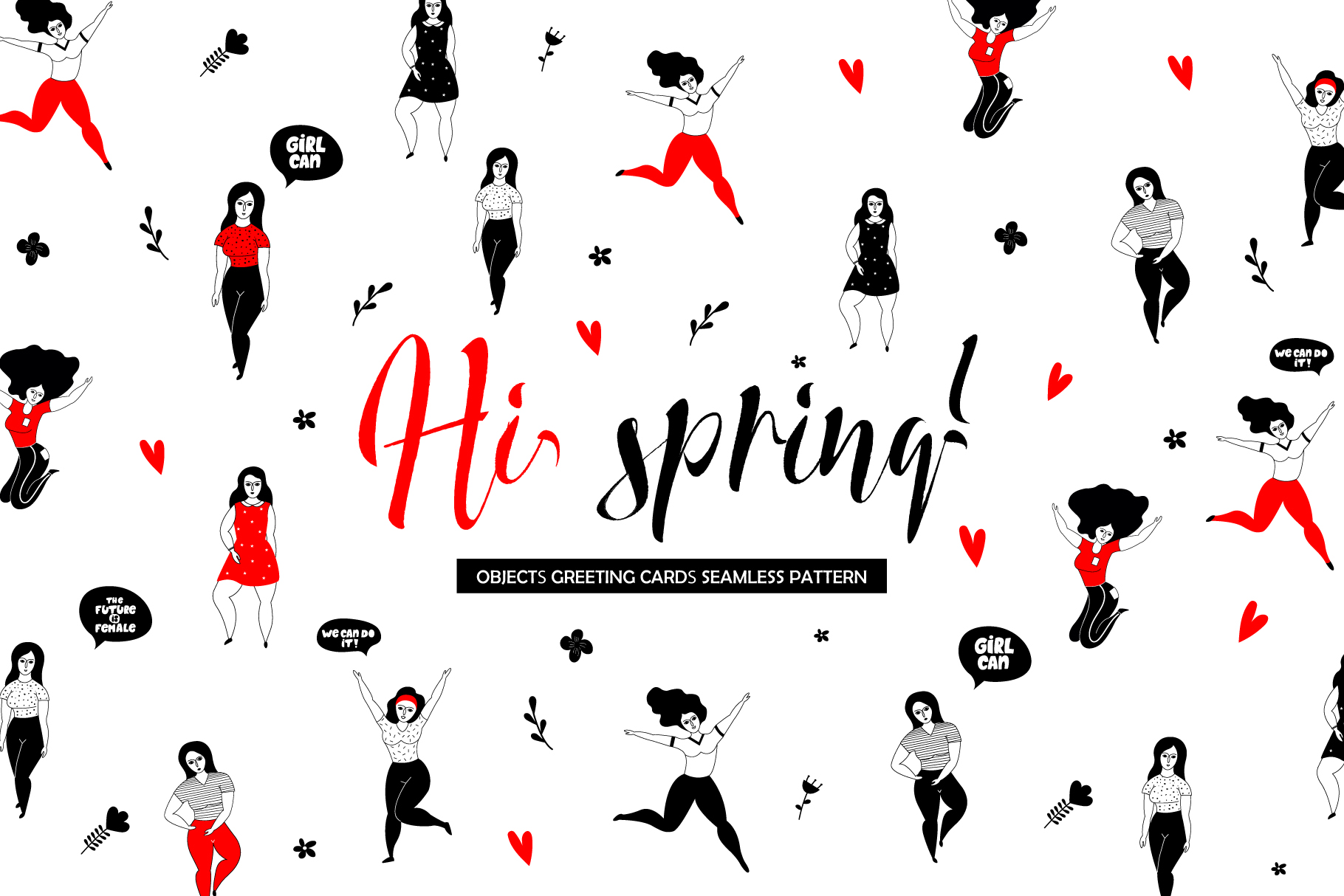Hi, spring! Lady collection example image 1