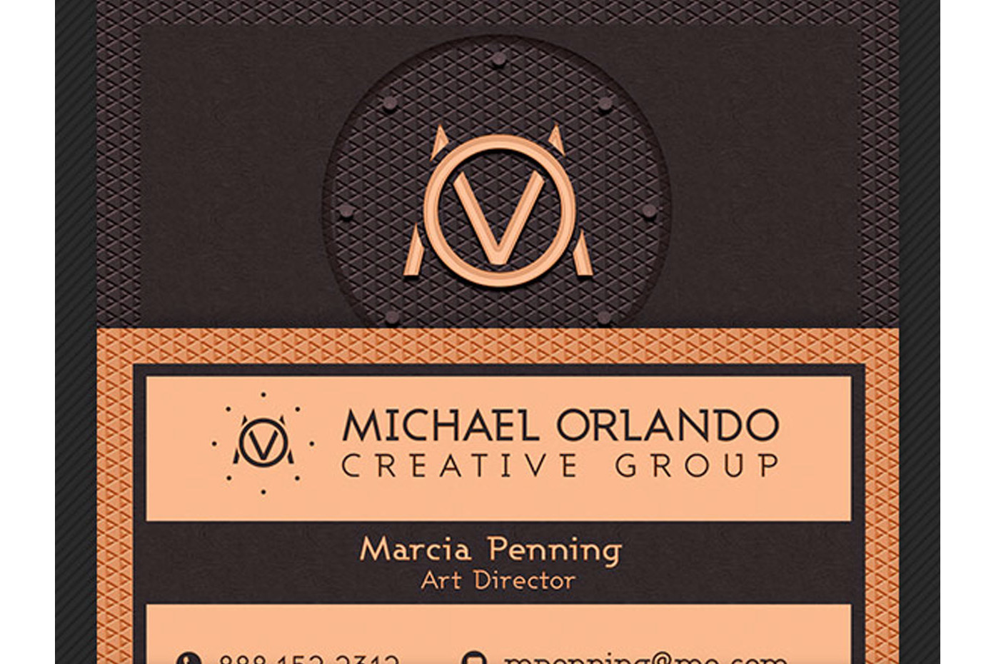 Creative Group Business Card Template example image 3