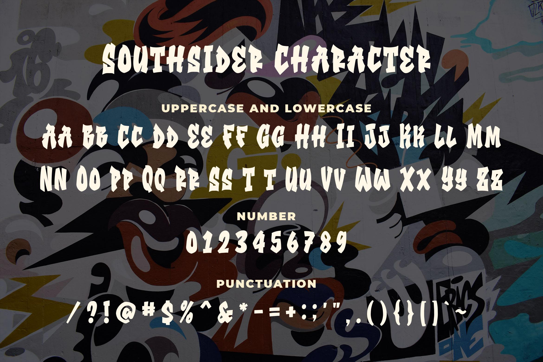 Southsider - Graffiti Typeface example image 3