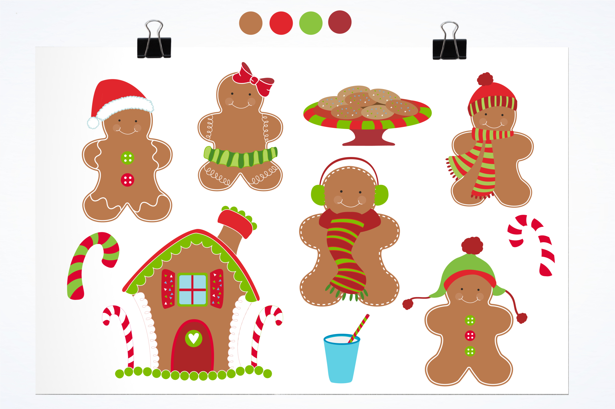 Gingerbread Classic graphics and illustrations example image 2