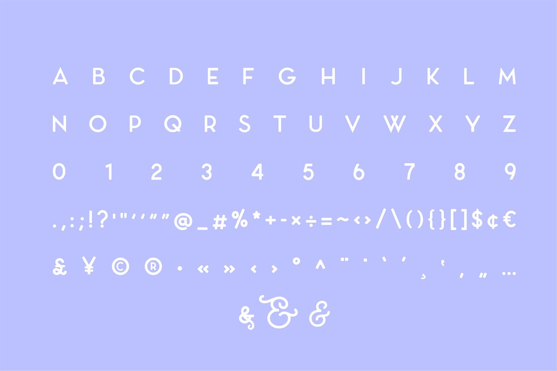 Carino - A Modern Elegant Typeface example image 12