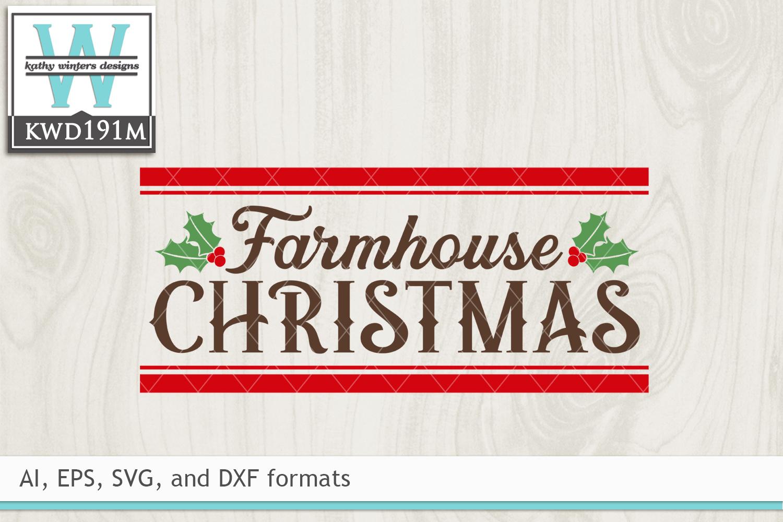 Christmas SVG - Farmhouse Christmas example image 2