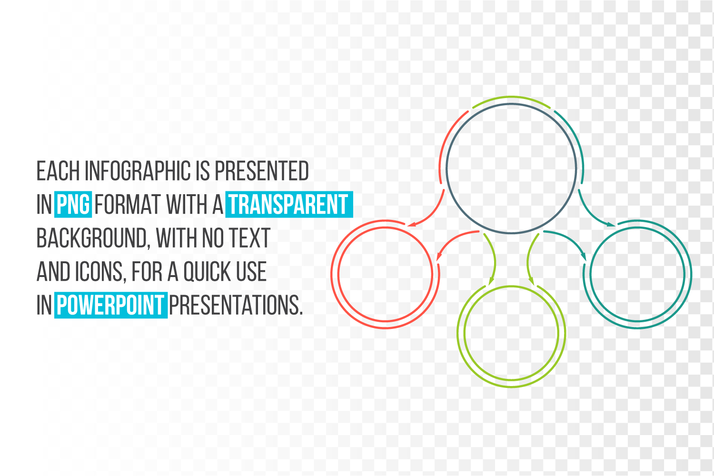 Minimal infographic PPT presentation example image 4