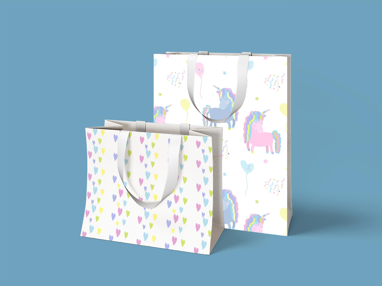 Magic Unicorns Illustration Set example image 5