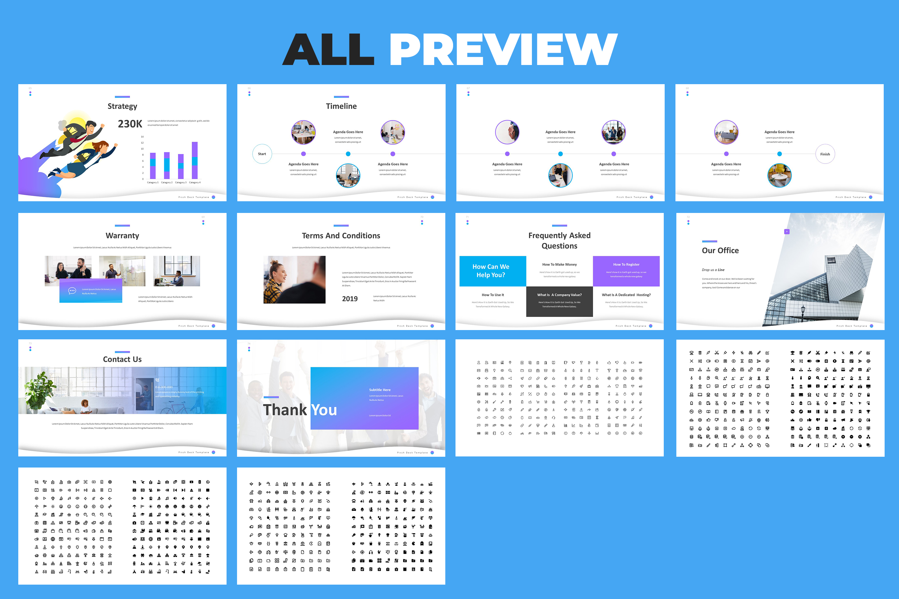 Pitch Deck Powerpoint Template example image 9