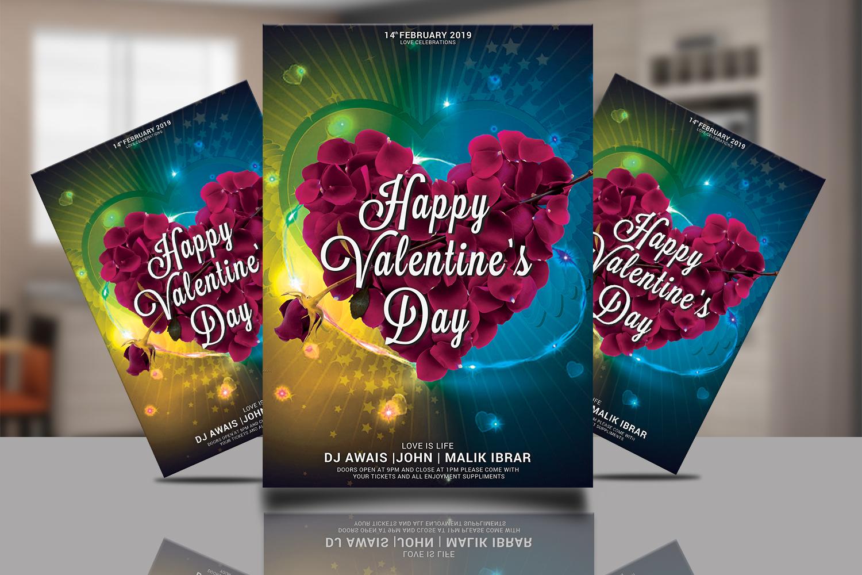 Valentines Day Flyer Bundle example image 10