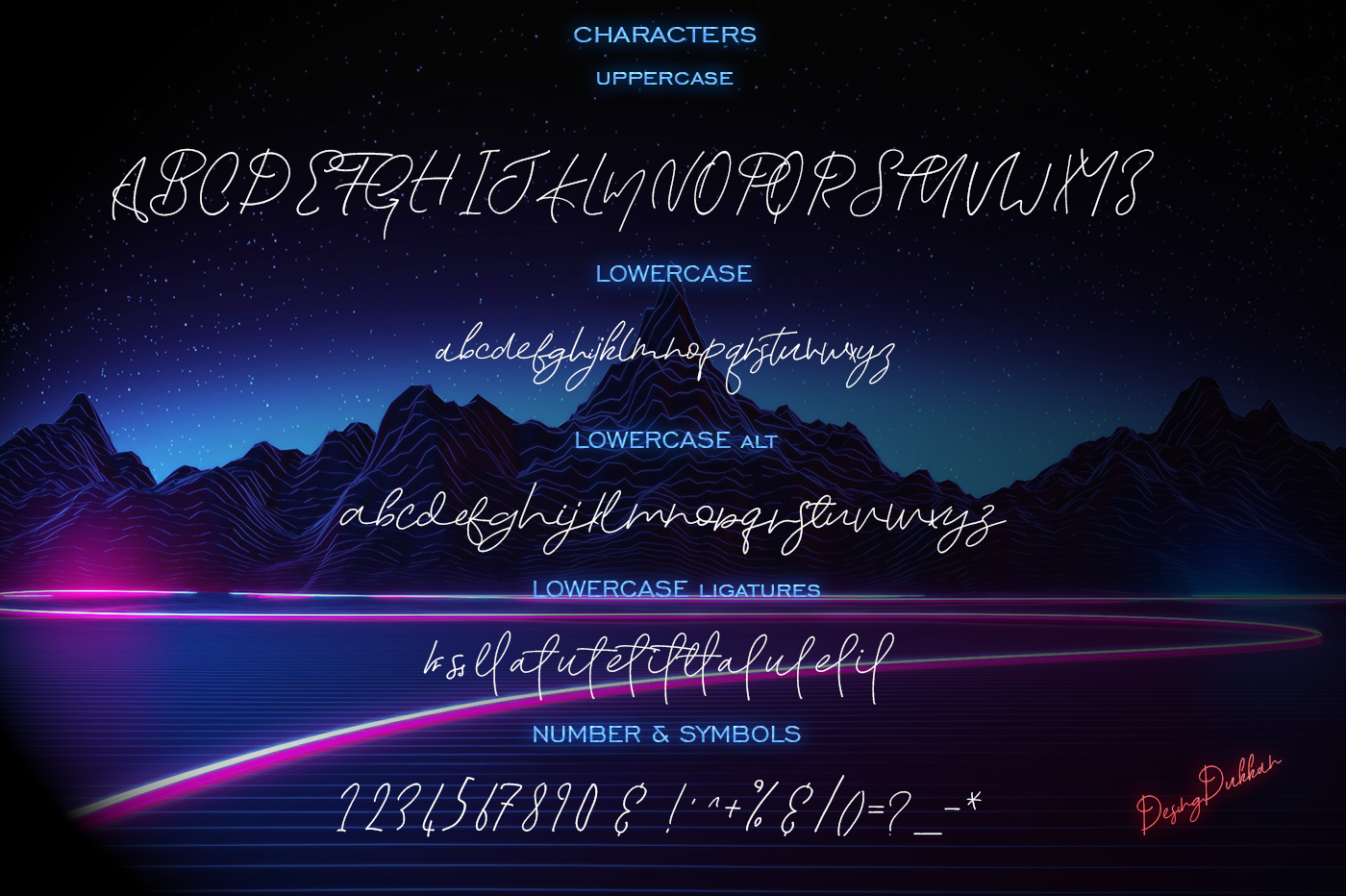 Berry Romillin Script Font example image 7