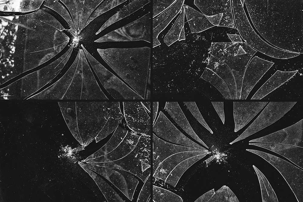 Broken Glass Texture Mockup example image 5