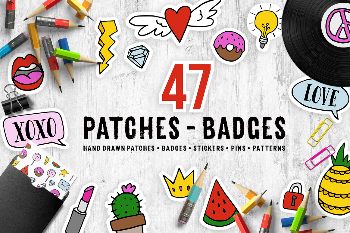 Patches - badges example image 1