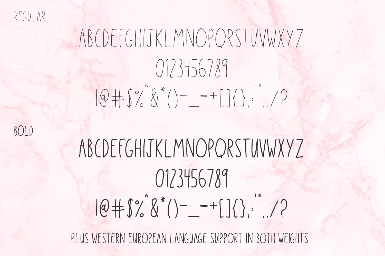 Sassafras Sans - Regular and Bold example image 10