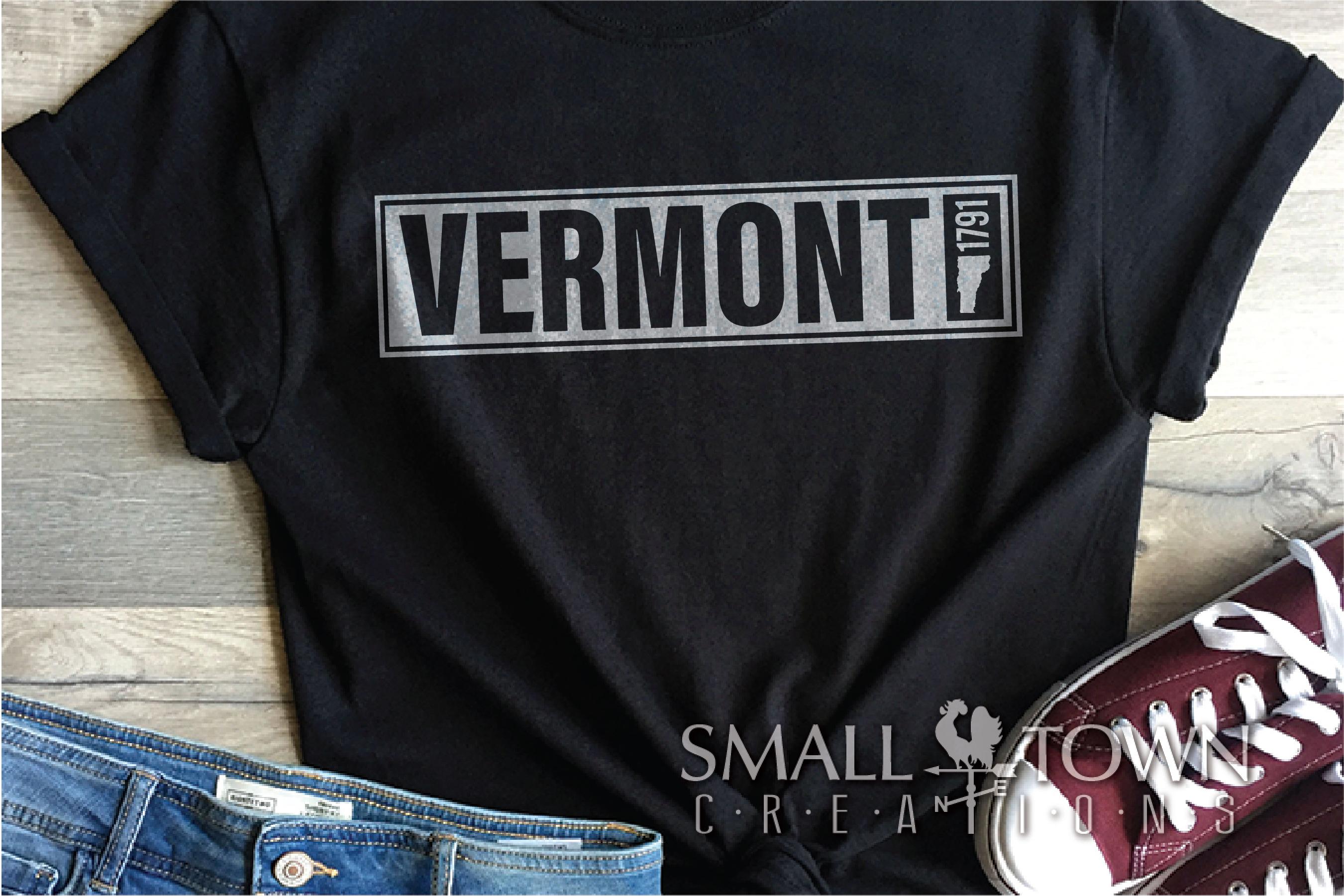 Vermont, Green Mountain State - slogan, PRINT, CUT & DESIGN example image 6
