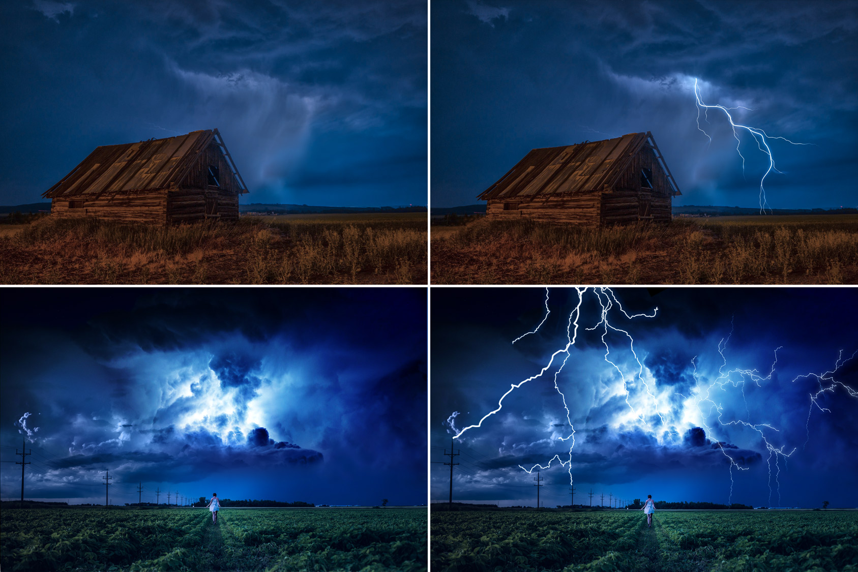 50 Lightning Photo Overlays example image 3