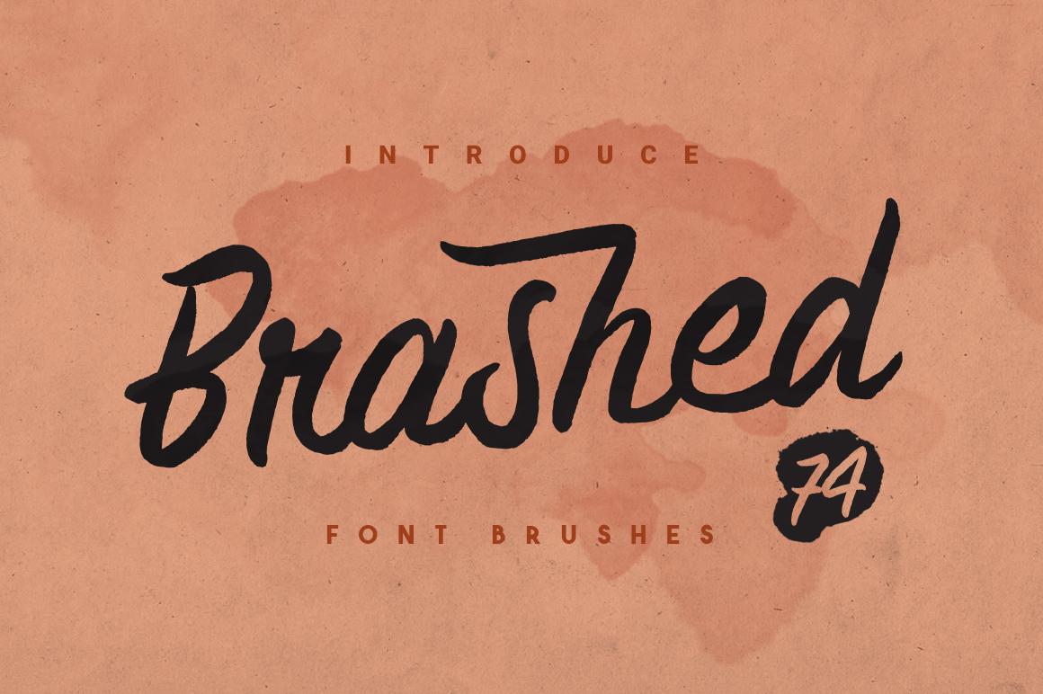 Brashed Typeface example image 1