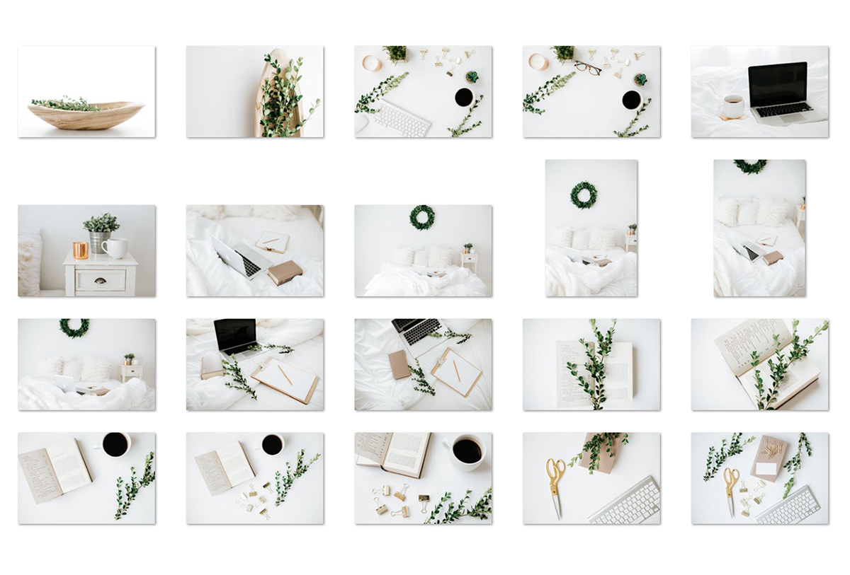 Greenery Styled Stock Photo Bundle example image 3