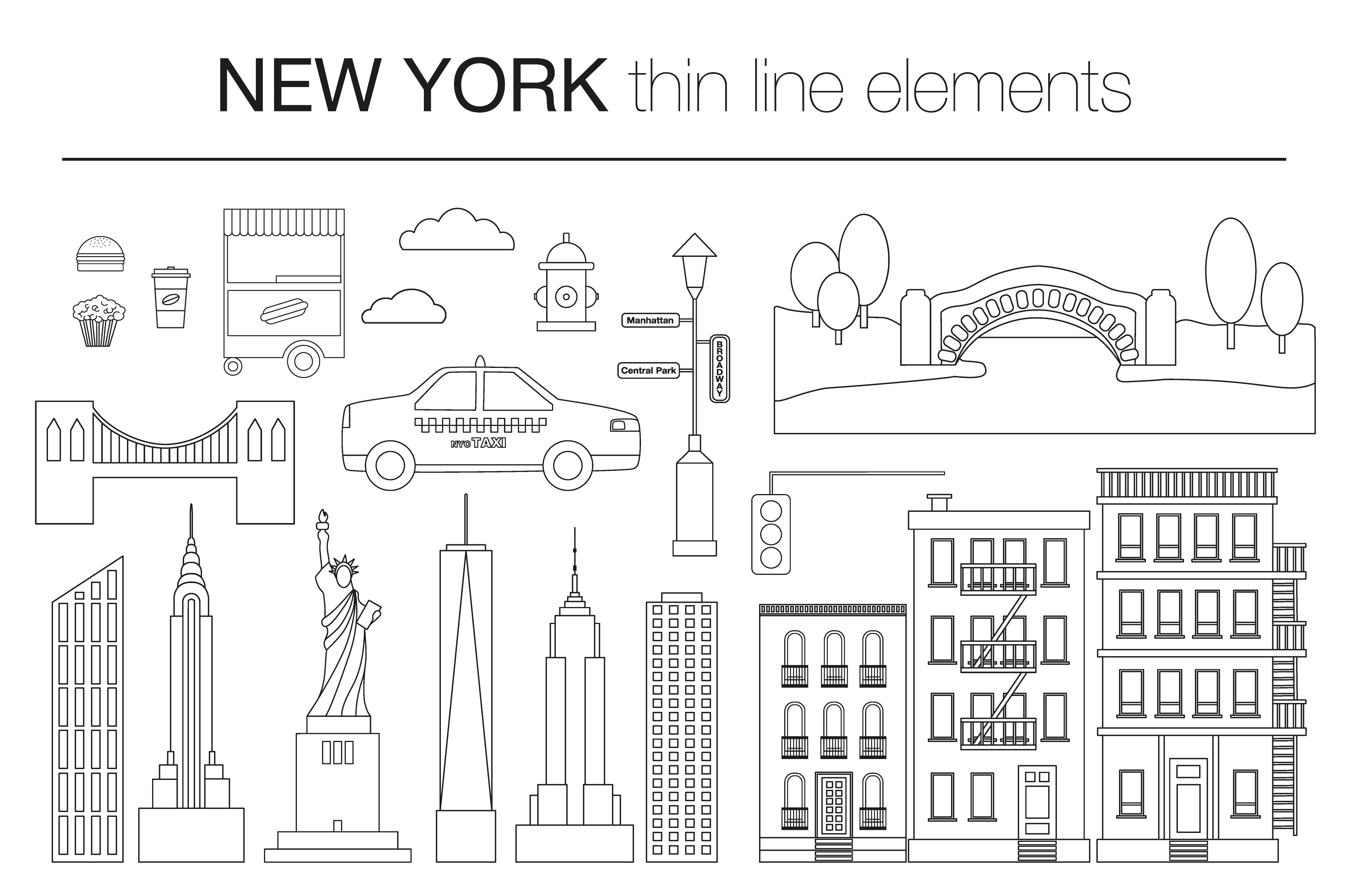 NEW YORK vector collection example image 4