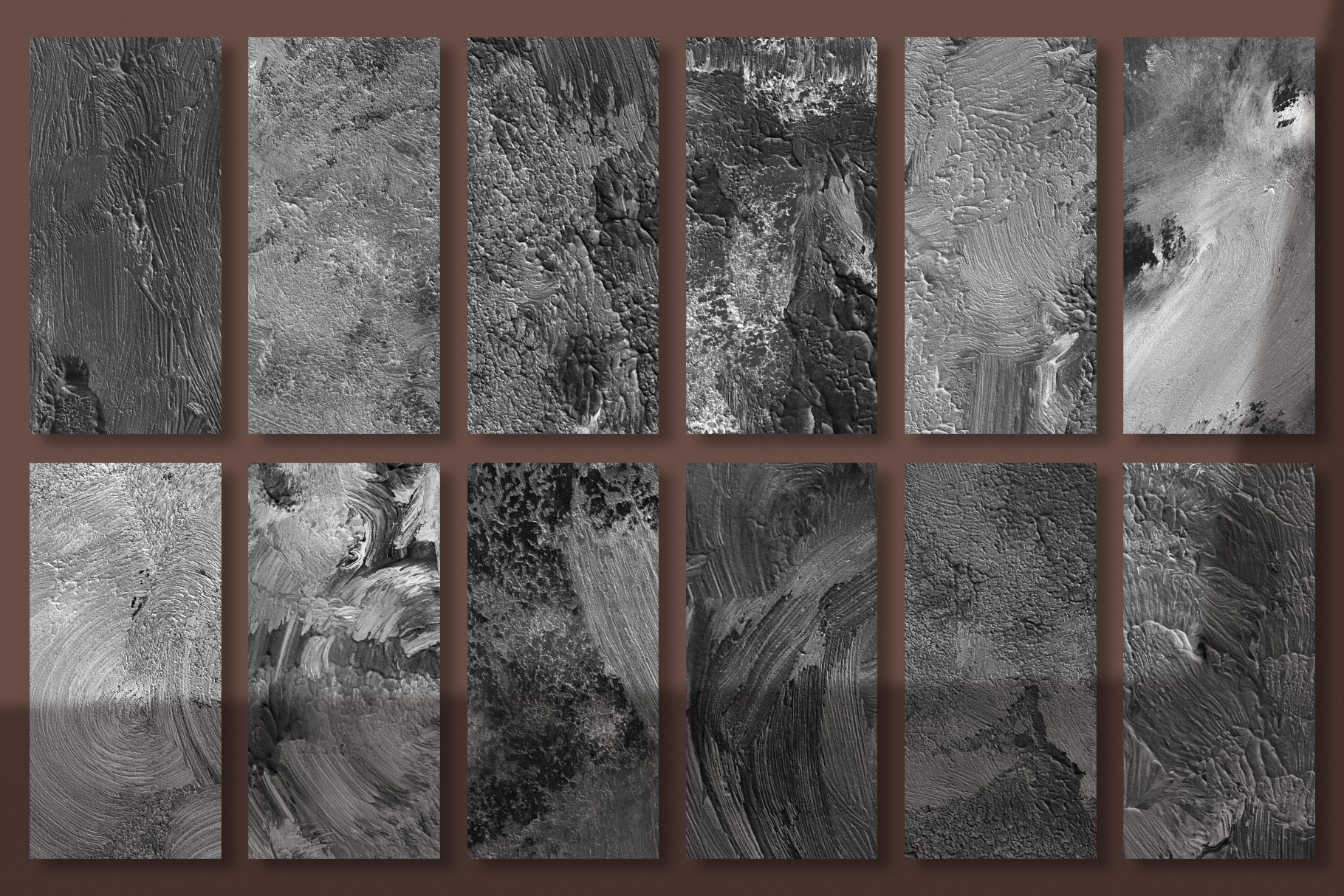 Fine Art Acrylic Paint Textures - Hand Painted Backgrounds example image 22