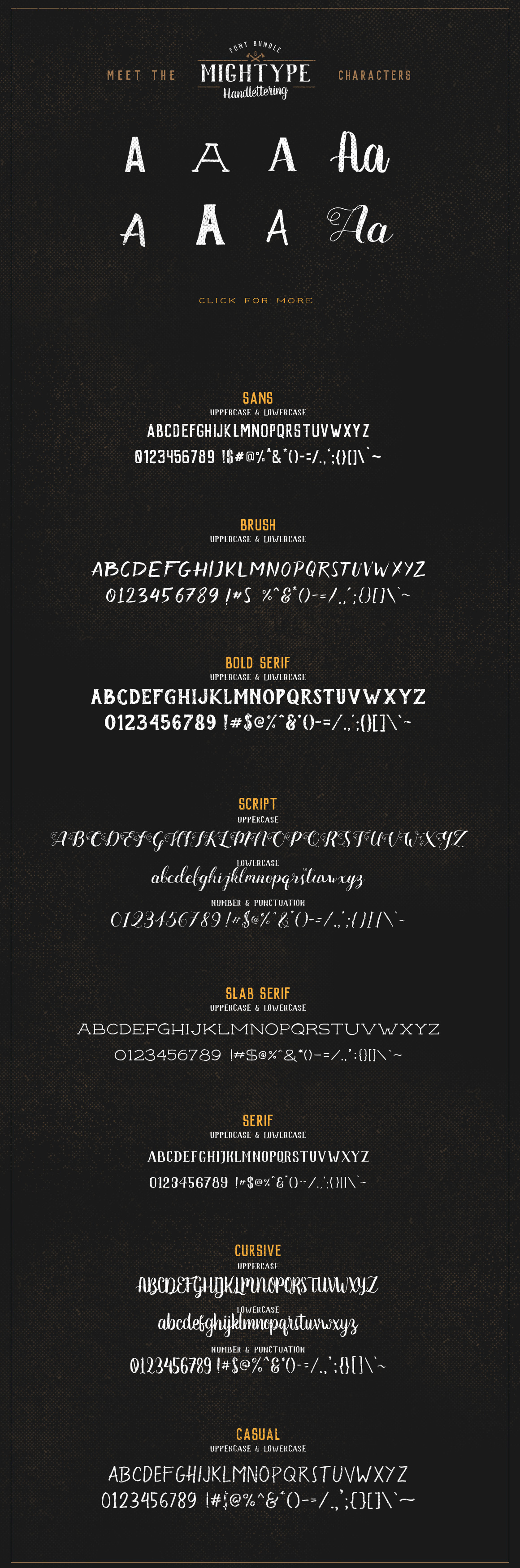 Mightype Handlettering Font Pack example image 7