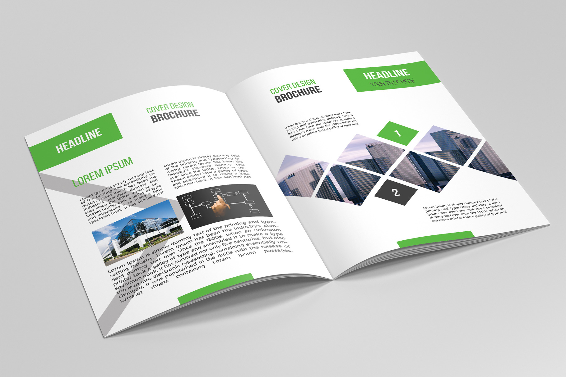 Business Brochure Template 05 example image 4