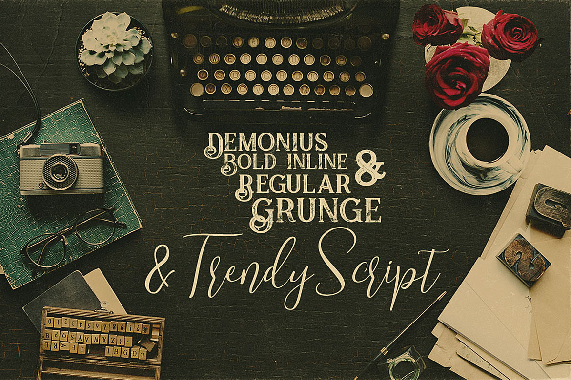 Trendy Script Font Duo example image 3