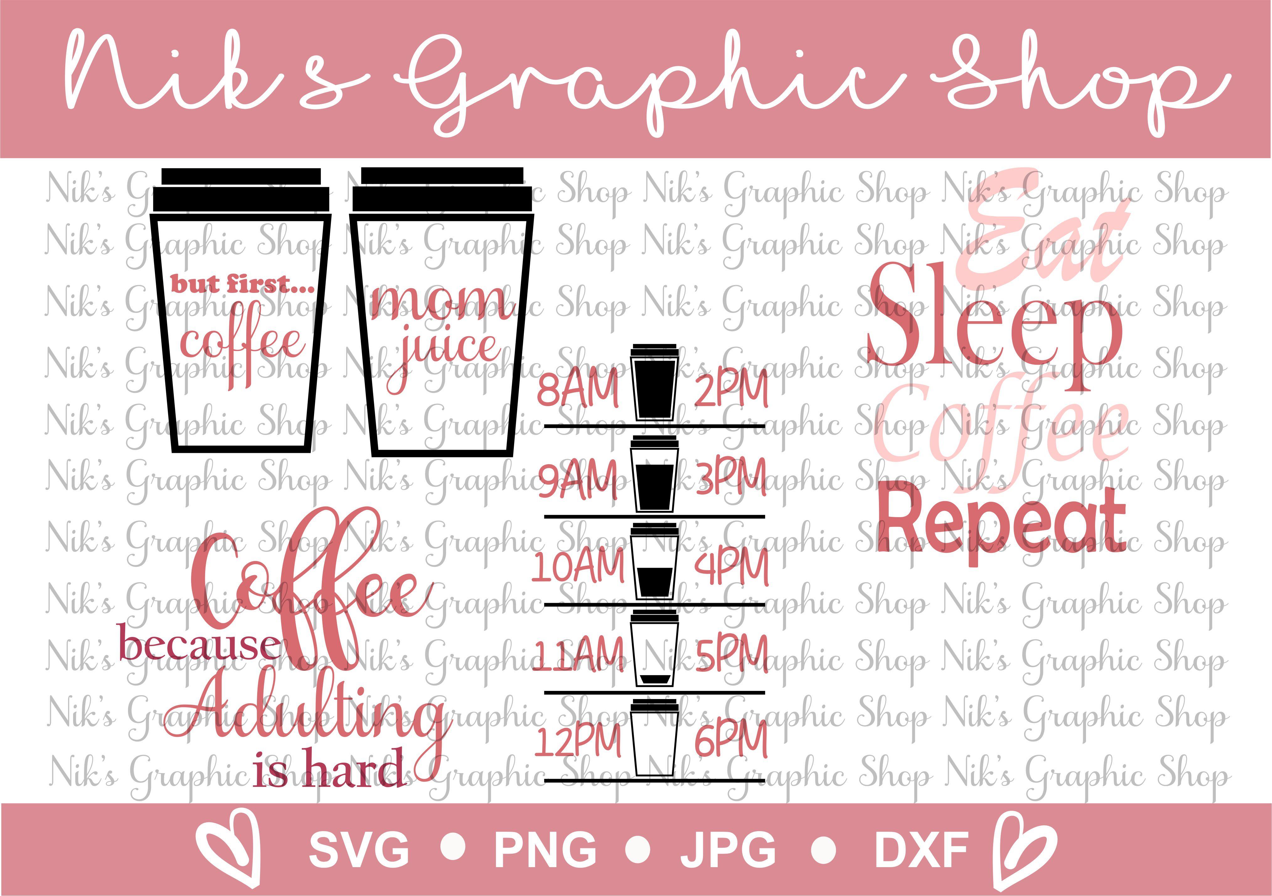 Coffee Svg, Coffee Travel Mug, Drink your Coffee example image 1