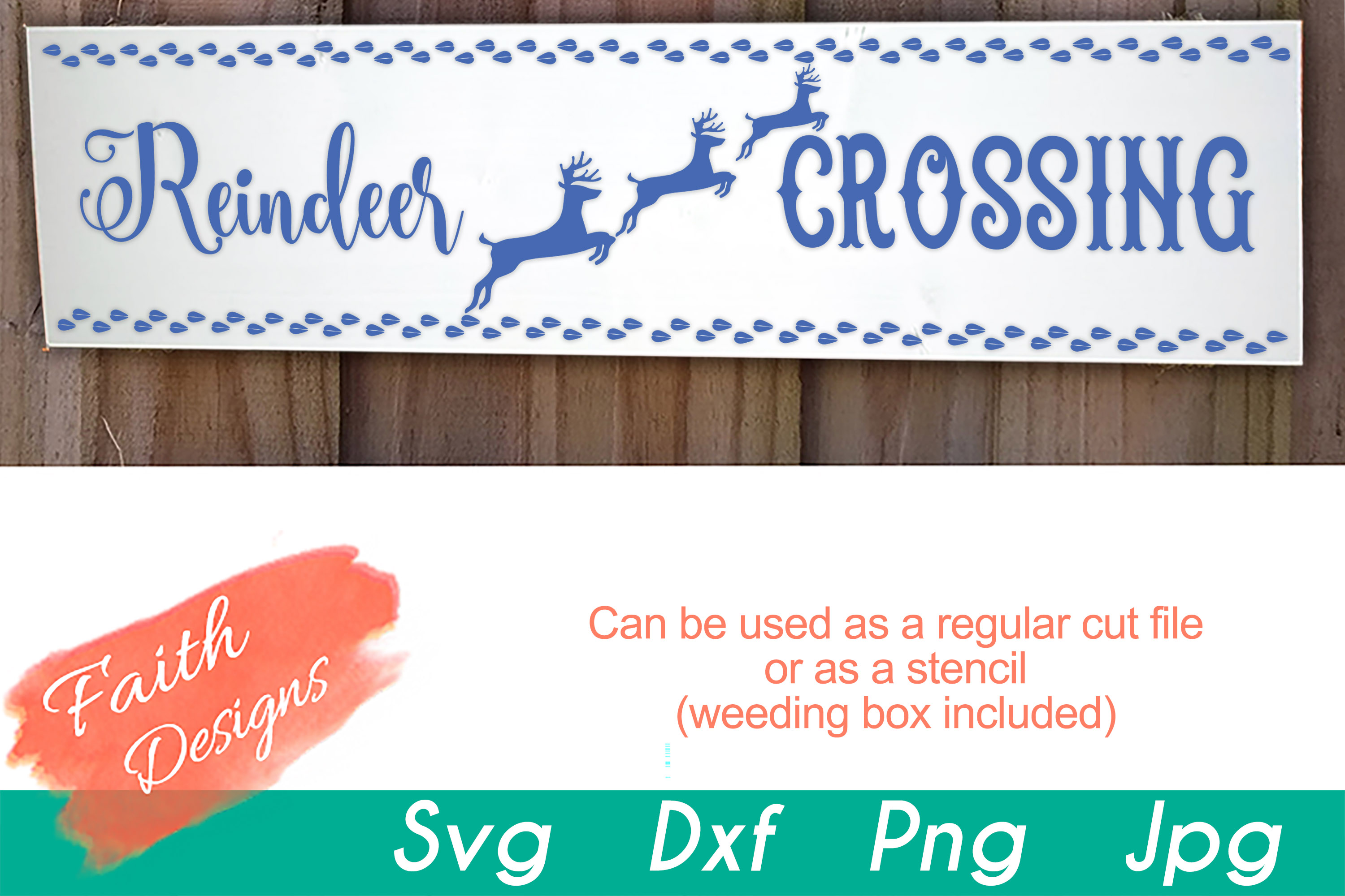Christmas Porch Sign Bundle example image 11