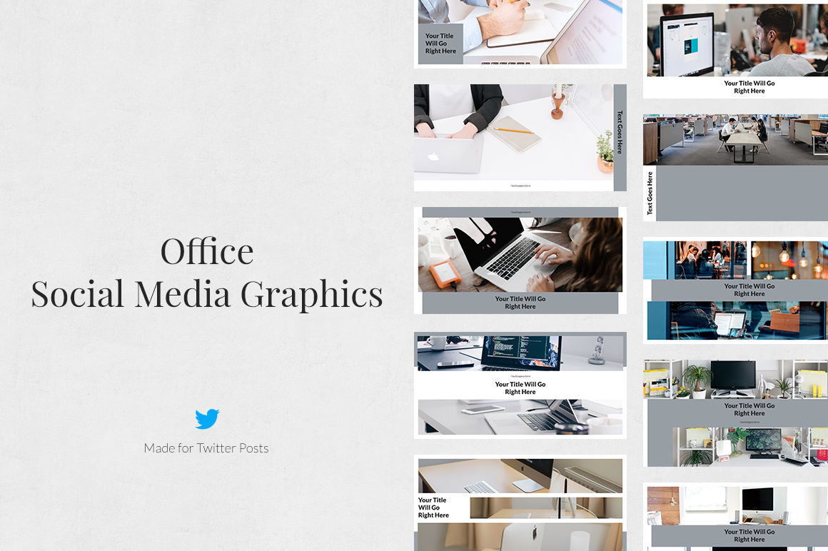 Office Twitter Posts example image 1