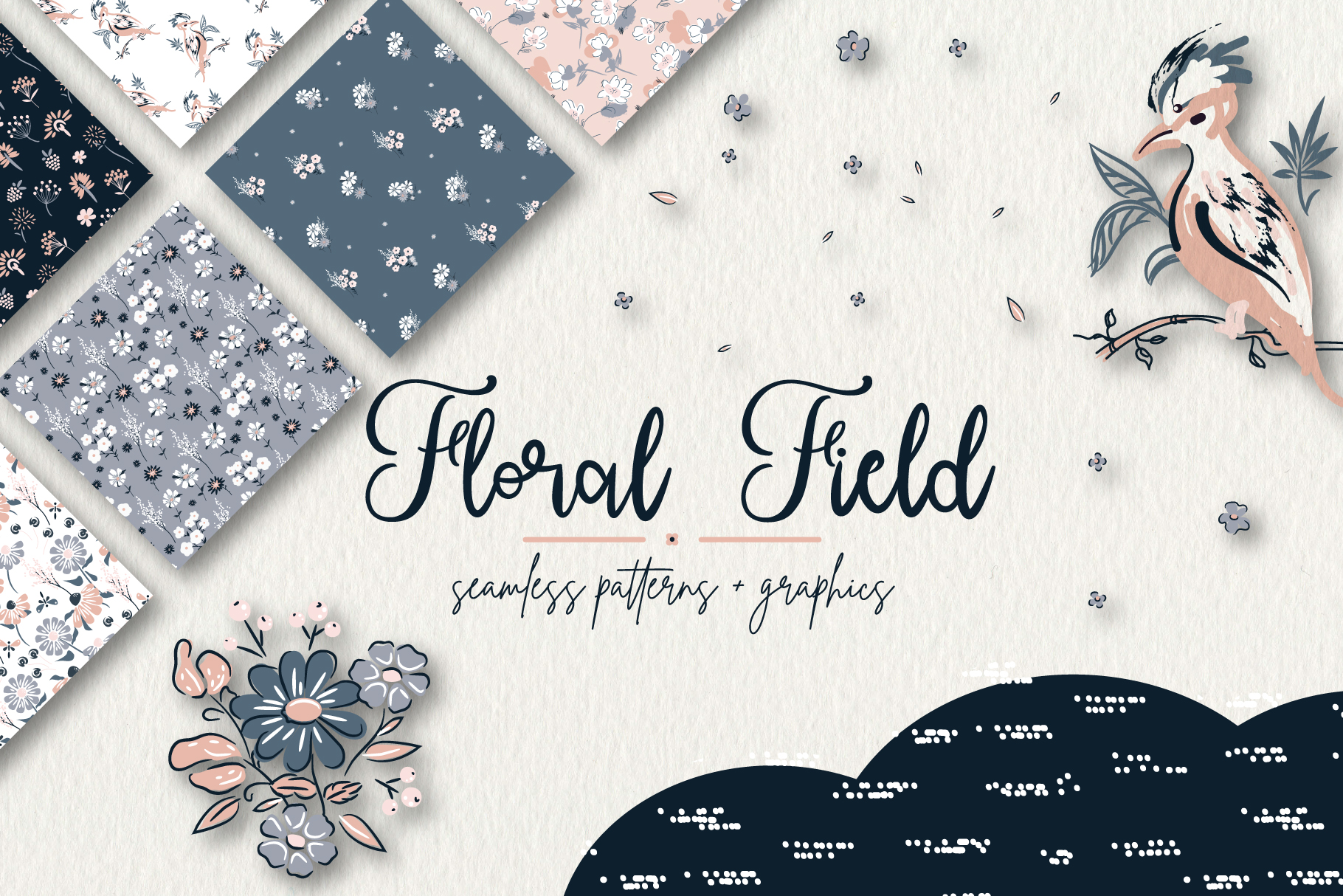 Floral Field - Patterns & Graphics example image 1