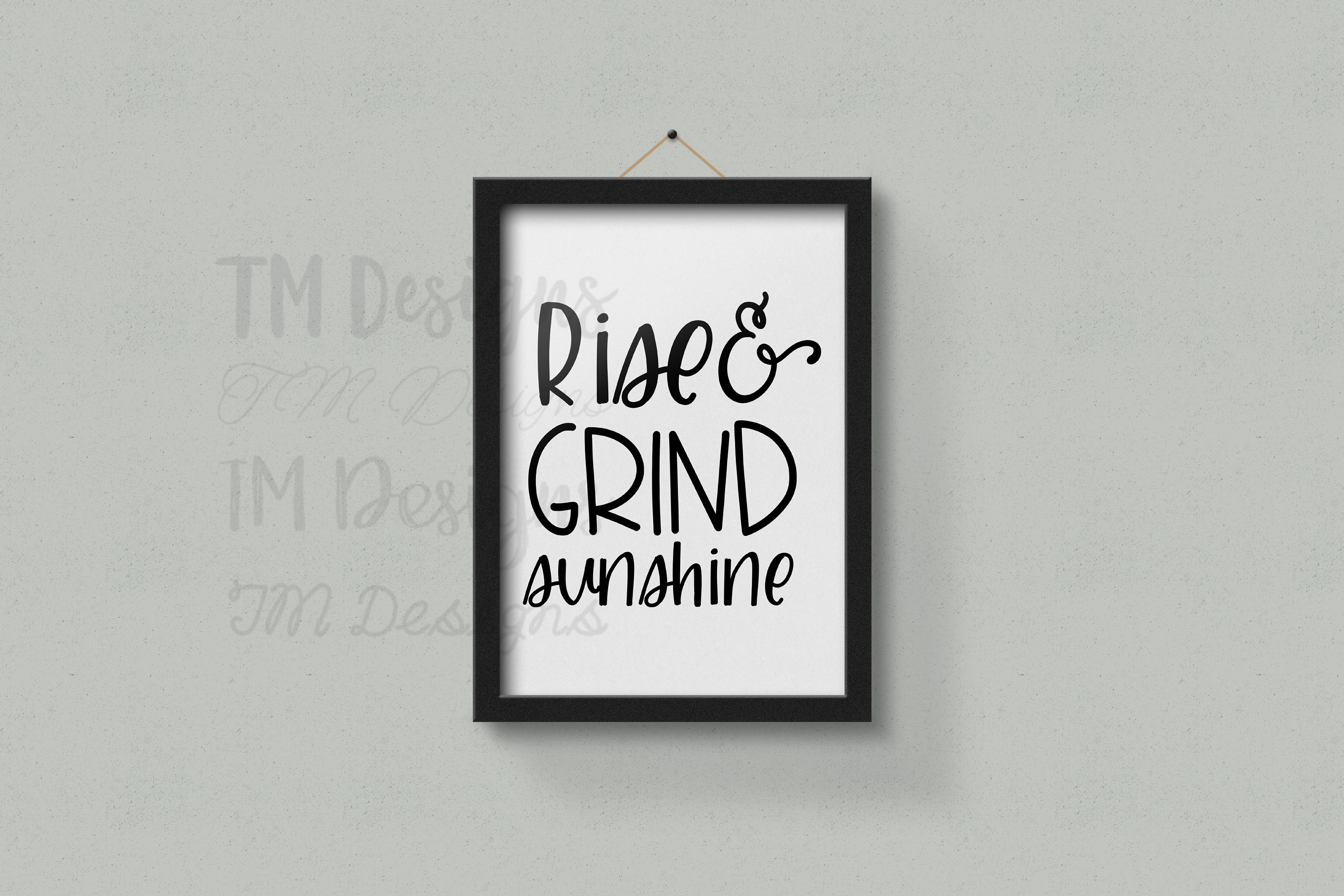 Rise and Grind Sunshine SVG example image 2