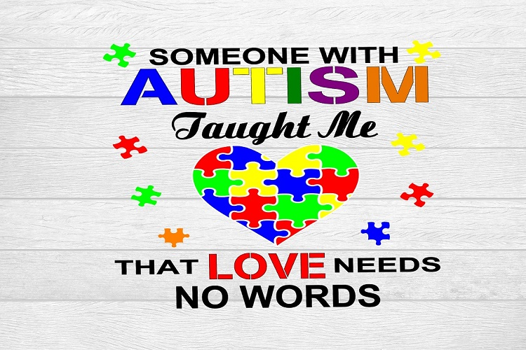 6438cbf2381 Someone With Autism Taught Me That Love Needs No Words example image 3