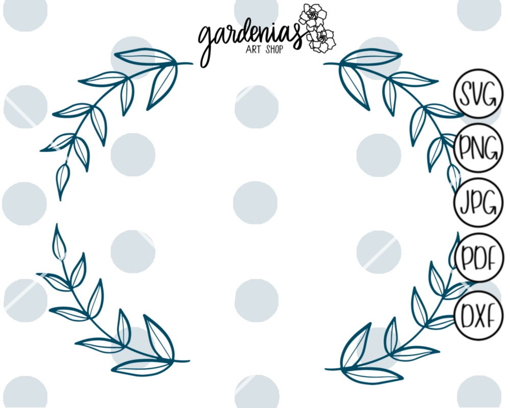 Laurel Wreath Banner Mini Bundle example image 4
