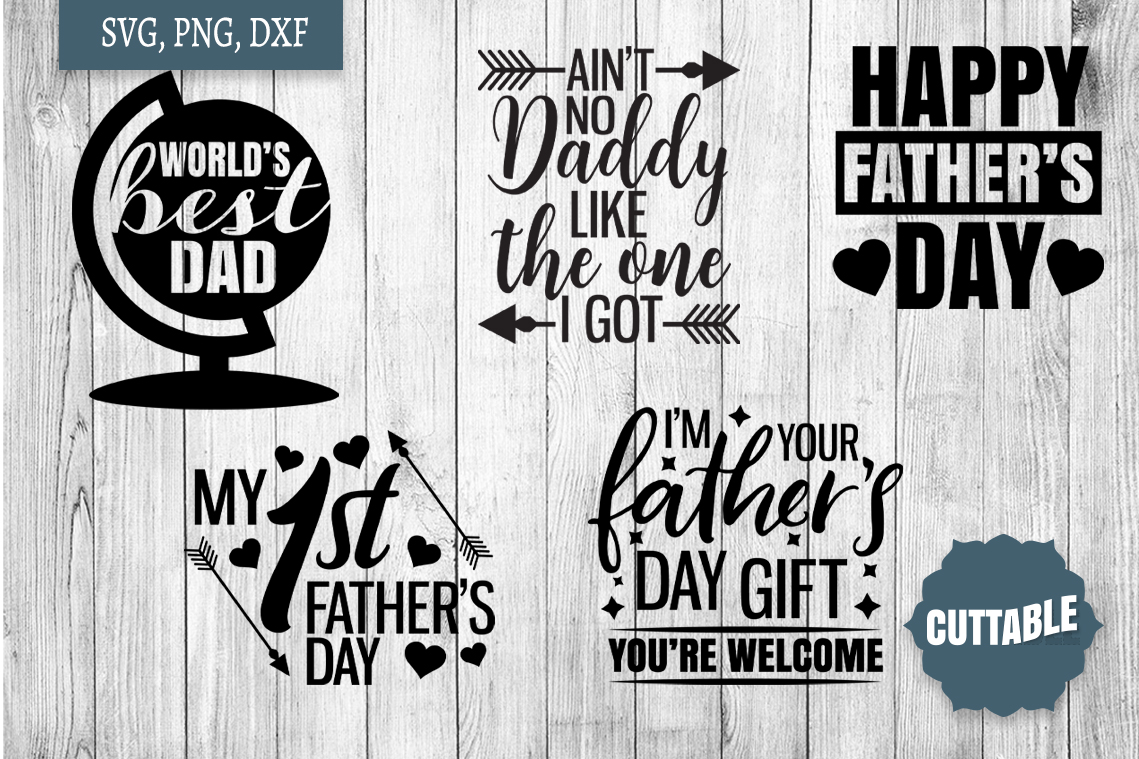 Father's Day SVG bundle, Father's cut files, Dad quote svg example image 3