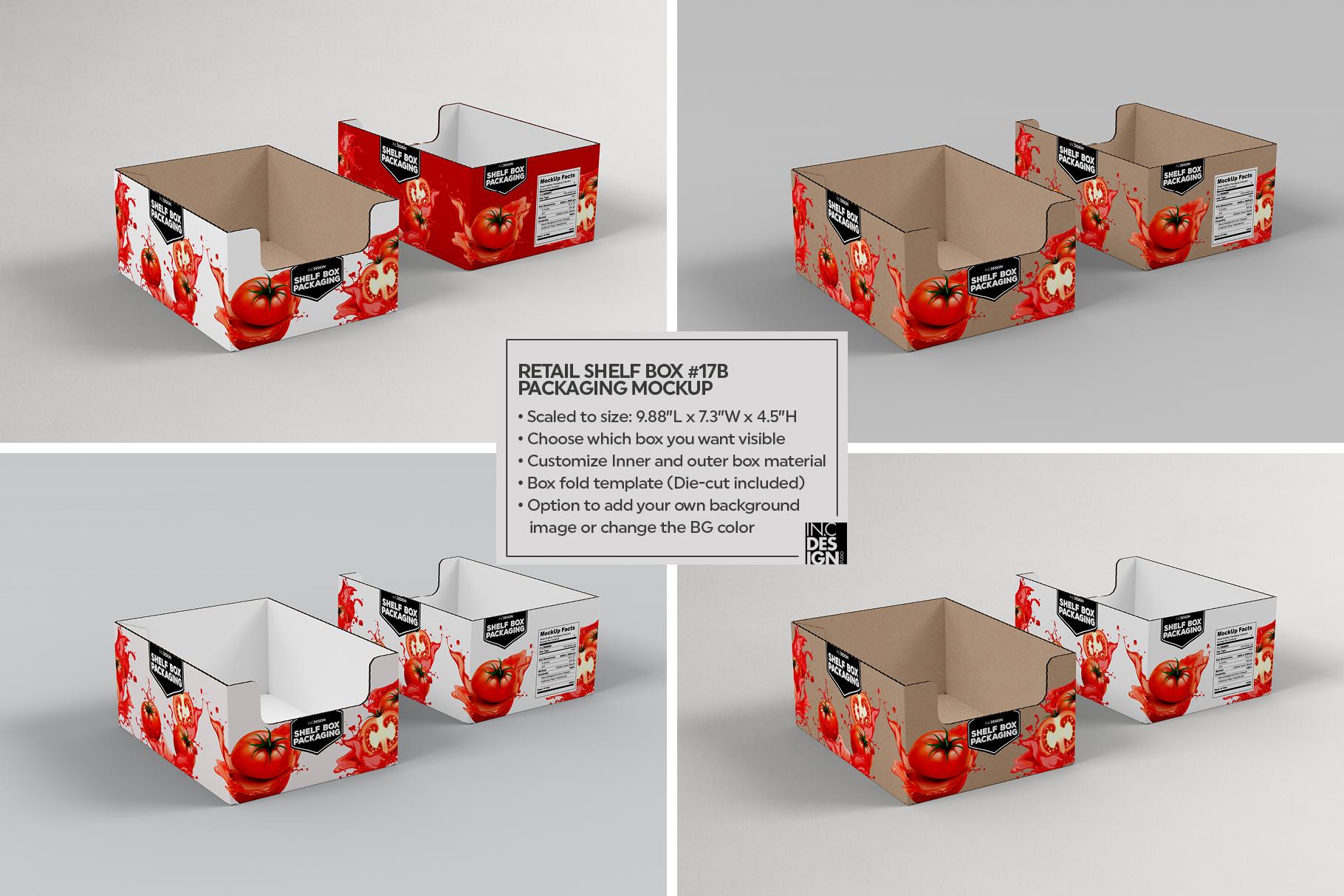 Shelf Box Packaging Volume 4 example image 3