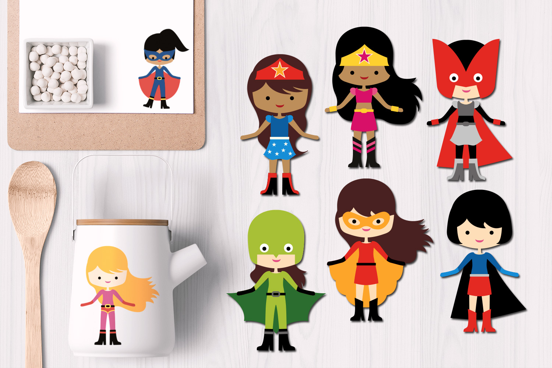 Superhero design bundle graphics and illustrations example image 4