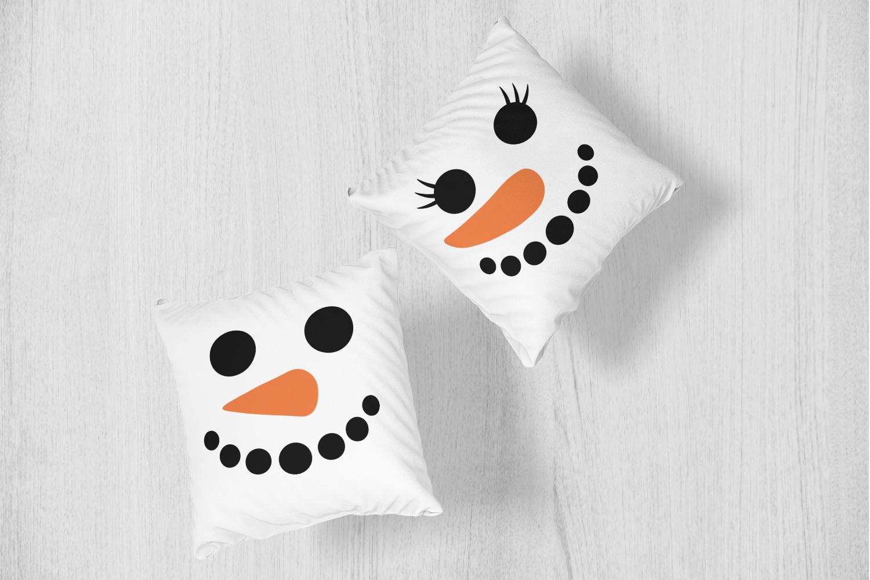 Snowman Faces Bundle example image 2