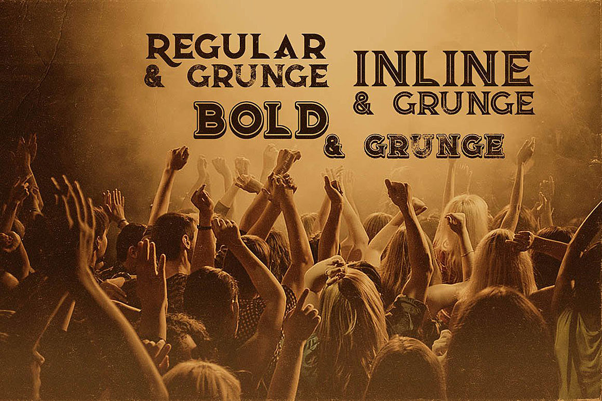 Rock'n Roll Typeface example image 3